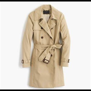 J.Crew Collection Sz 6 Icon trench Coat Long
